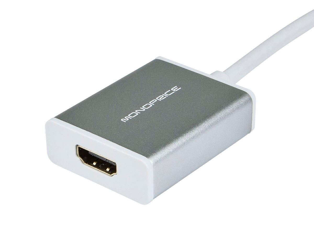 Monoprice Mini DisplayPort 1 1 / Thunderbolt to HDMI ACTIVE