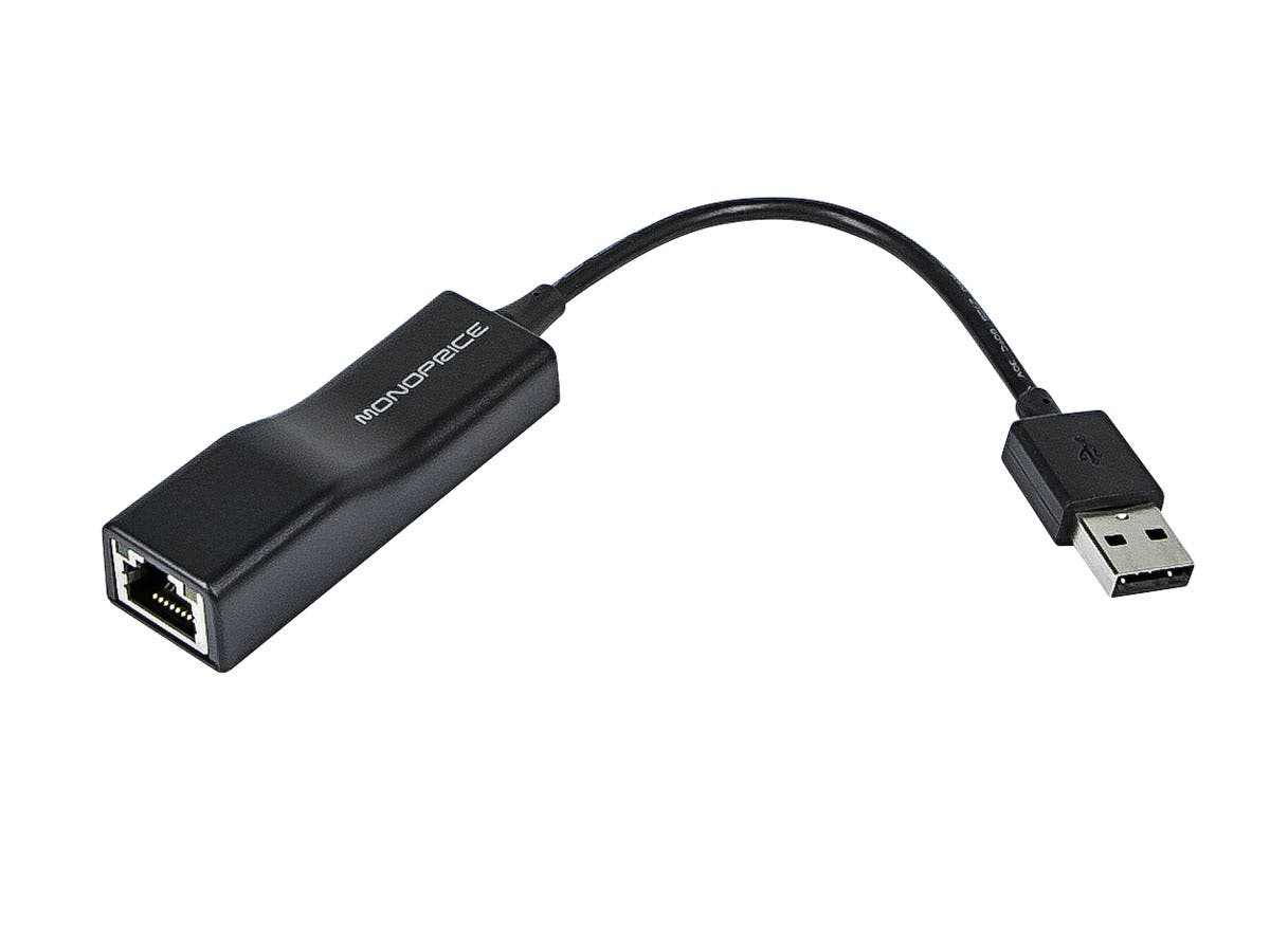 USB 2.0 Ethernet Adapter ( Wii | Wii U Compatible )