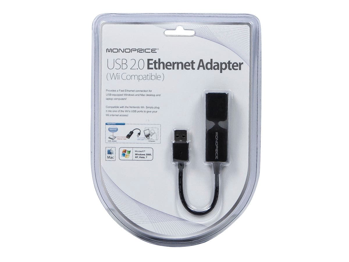 usb ethernet adapter wii wii u compatible com share facebook twitter