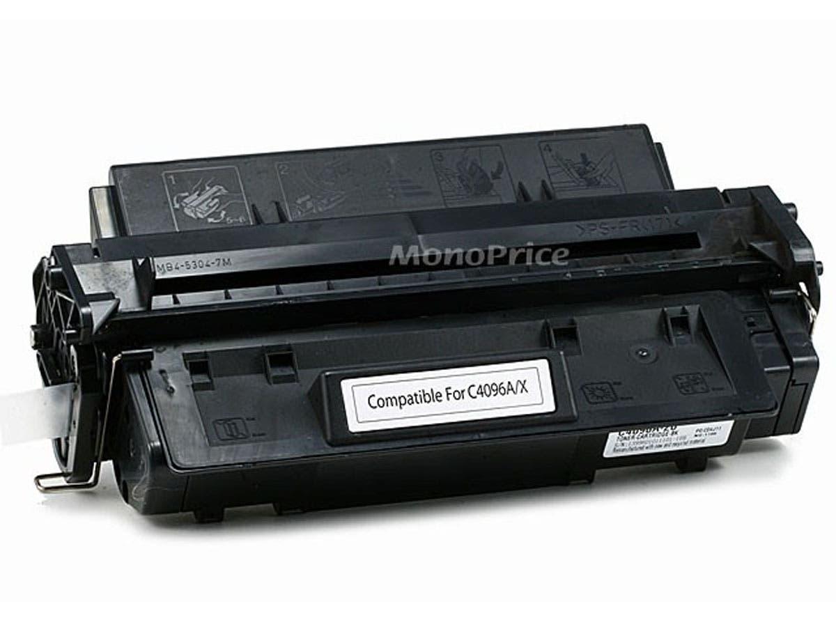 Monoprice Compatible HP96A C4096A Laser Toner - Black-Large-Image-1