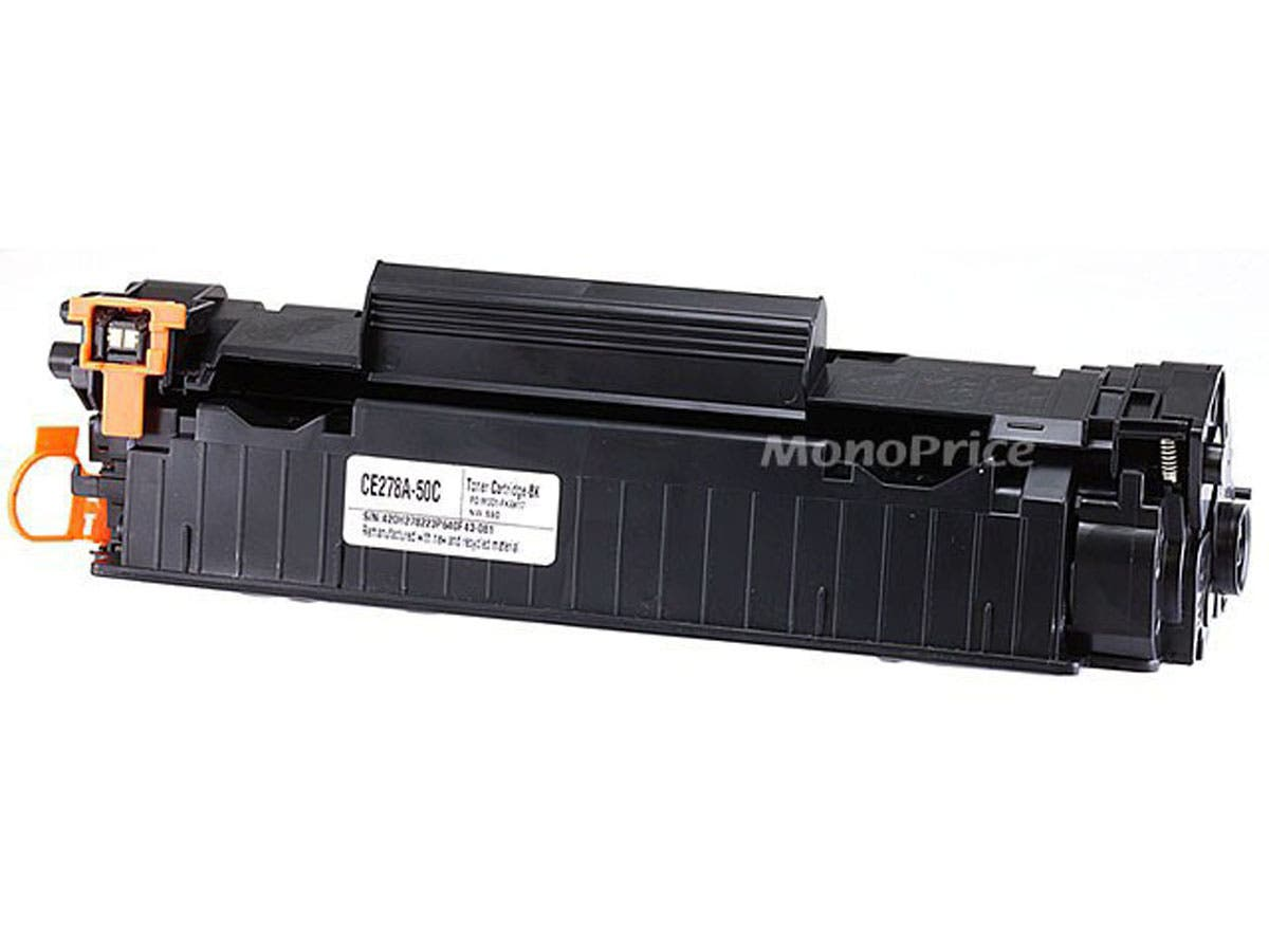 Monoprice Compatible Universal HP CE278A & Canon 128 Laser/Toner-Black-Large-Image-1