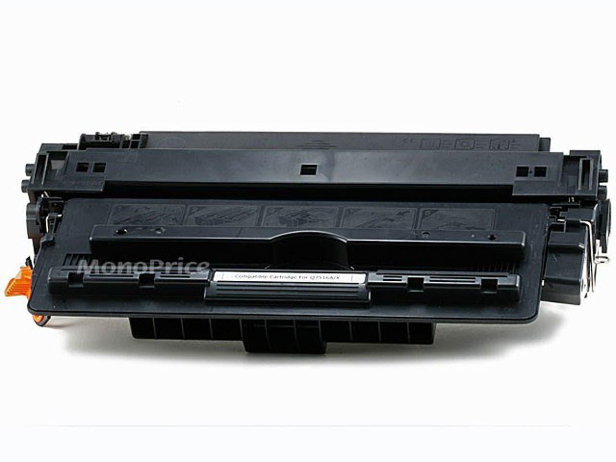 MPI Compatible HP16A Q7516A Laser Toner - Black