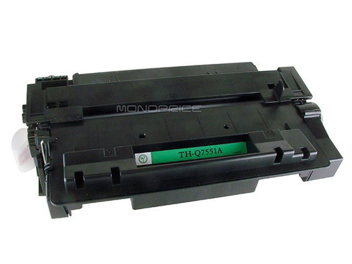 Monoprice Compatible HP51A Q7551A Laser Toner - Black-Large-Image-1