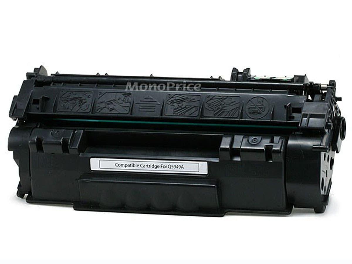 Monoprice Compatible HP49A Q5949A Laser Toner - Black-Large-Image-1