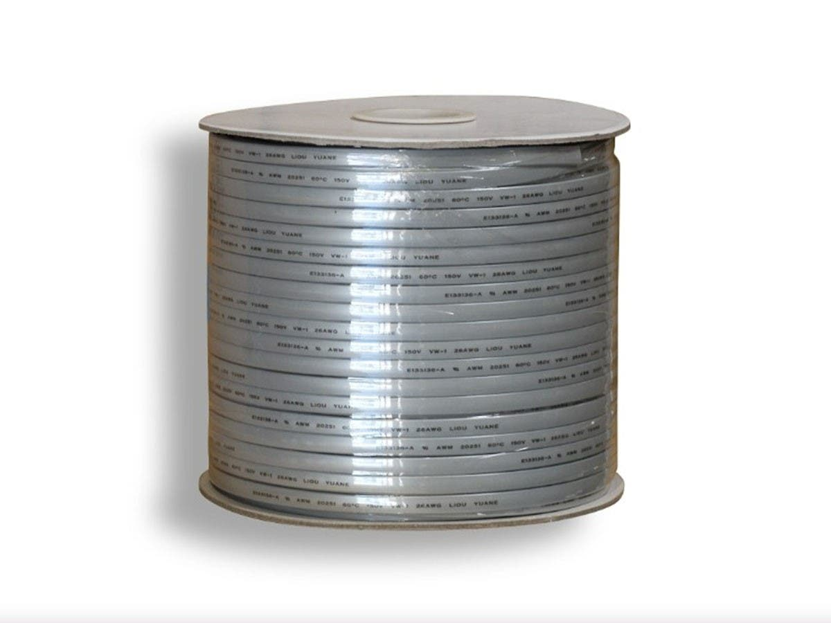8 Wire, Stranded, Silver - 1000ft -Large-Image-1