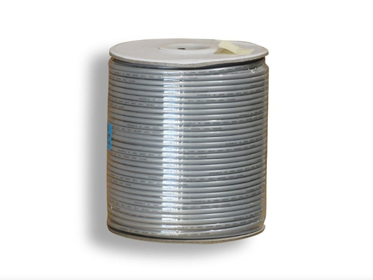 4 Wire, UL, 26AWG, Stranded, Silver - 1000ft