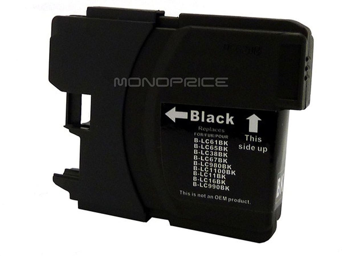 Monoprice compatible Brother LC61BK inkjet- black-Large-Image-1