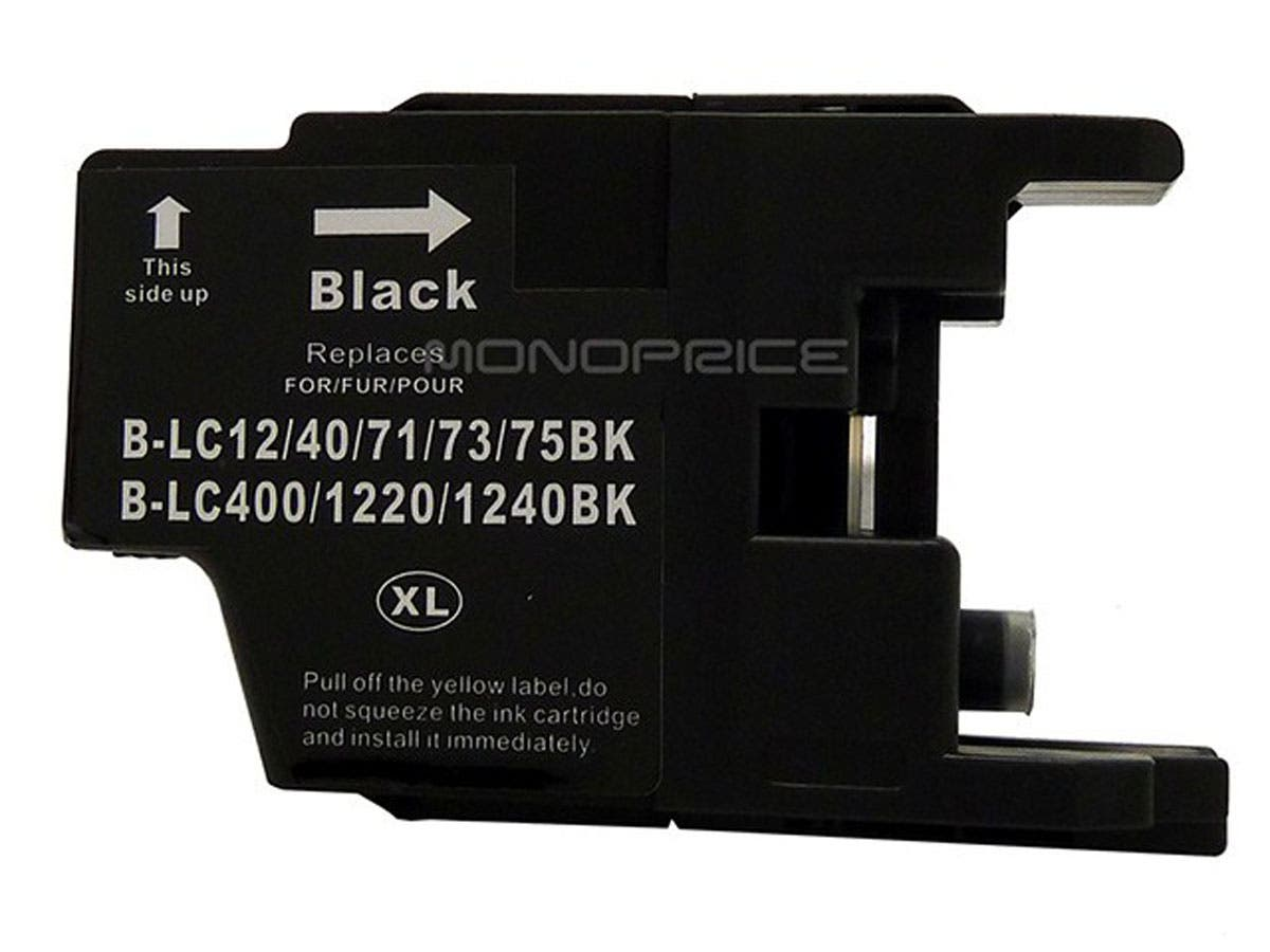 MPI compatible Brother LC75BK inkjet- black (High Yield)