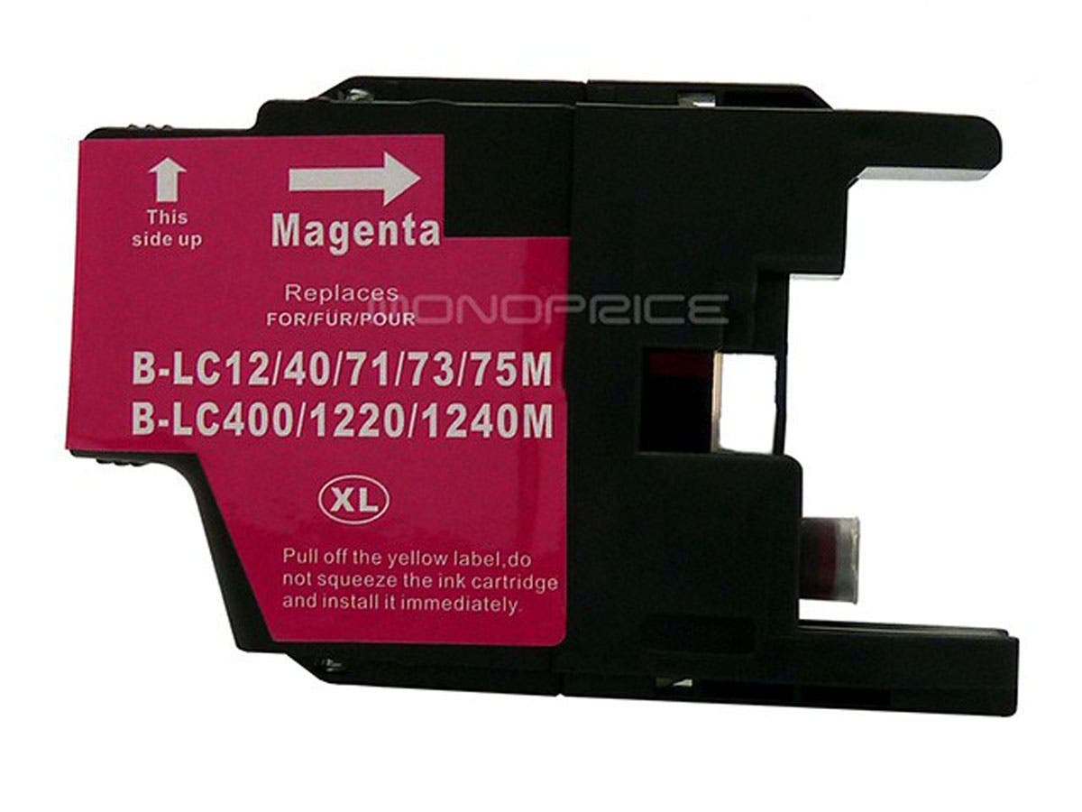 Monoprice compatible Brother LC75M inkjet- magenta (High Yield)-Large-Image-1