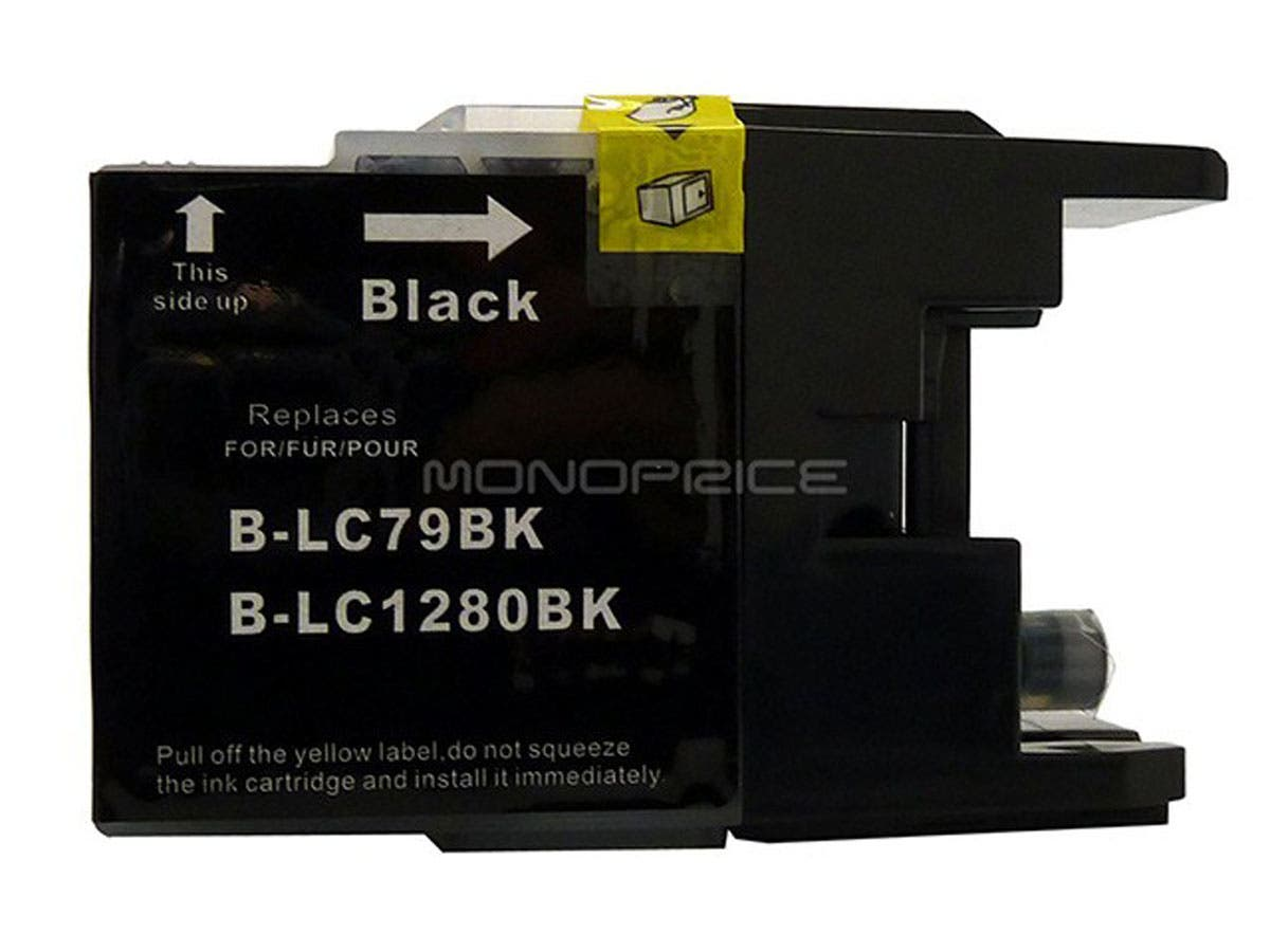 MPI compatible Brother LC79BK inkjet- black (Extra High Yield)