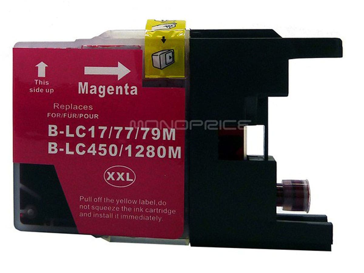 Monoprice compatible Brother LC79M inkjet- magenta (Extra High Yield)-Large-Image-1