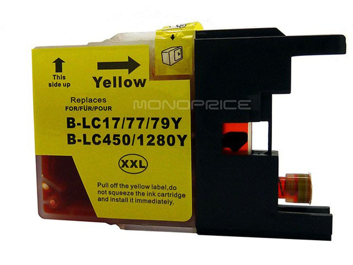 Monoprice compatible Brother LC79Y inkjet- yellow (Extra High Yield)-Large-Image-1