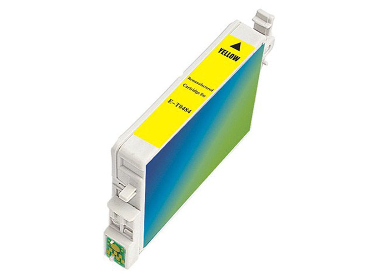 Monoprice remanufactured Epson T0484 - Yellow-Large-Image-1