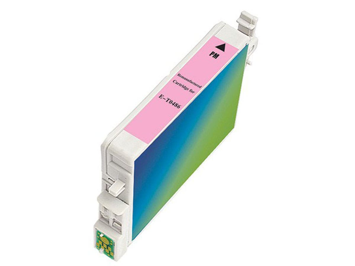 Monoprice remanufactured Epson T0486 - Light Magenta-Large-Image-1