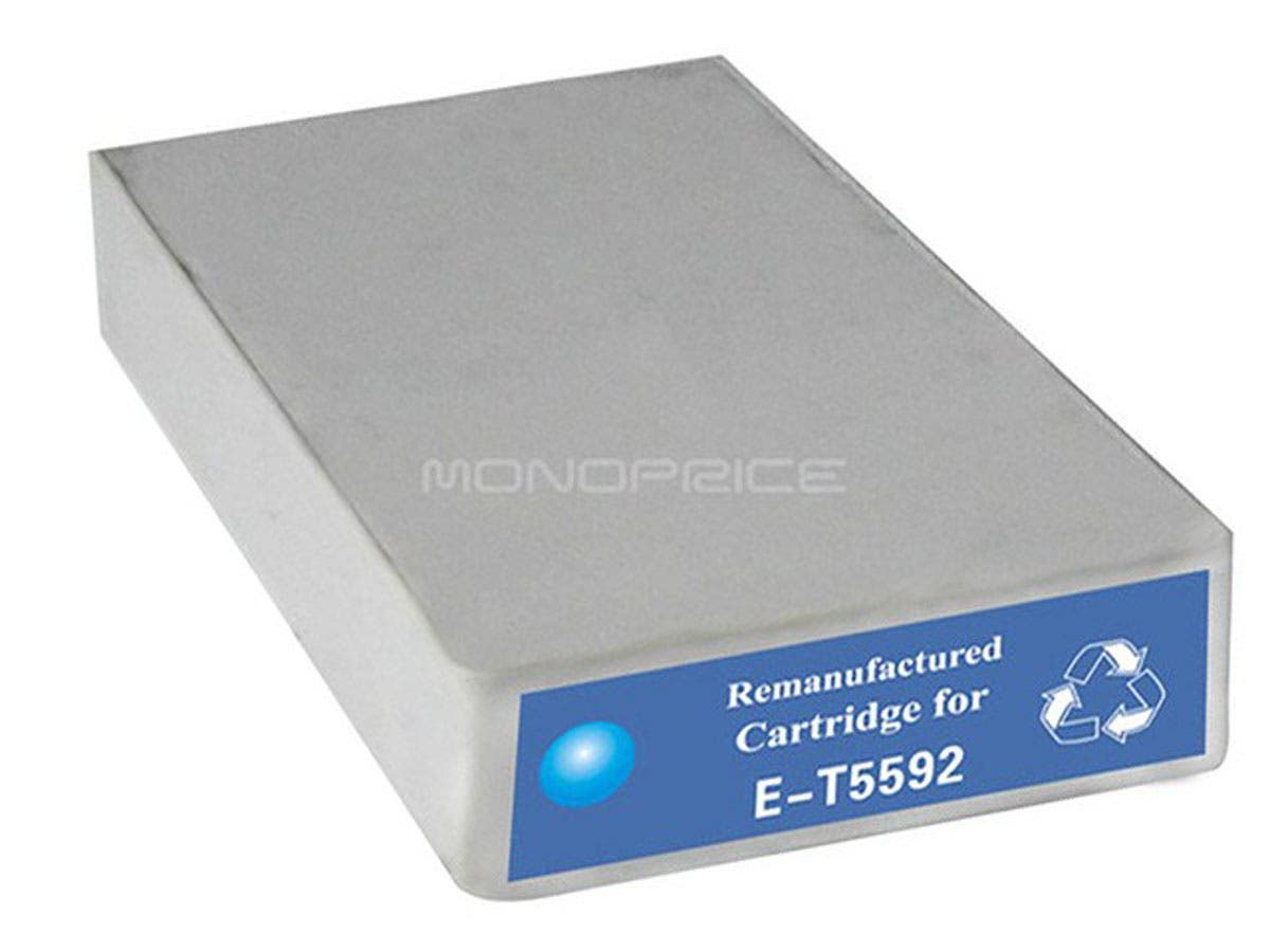 Monoprice remanufactured Epson T5592 - Cyan-Large-Image-1