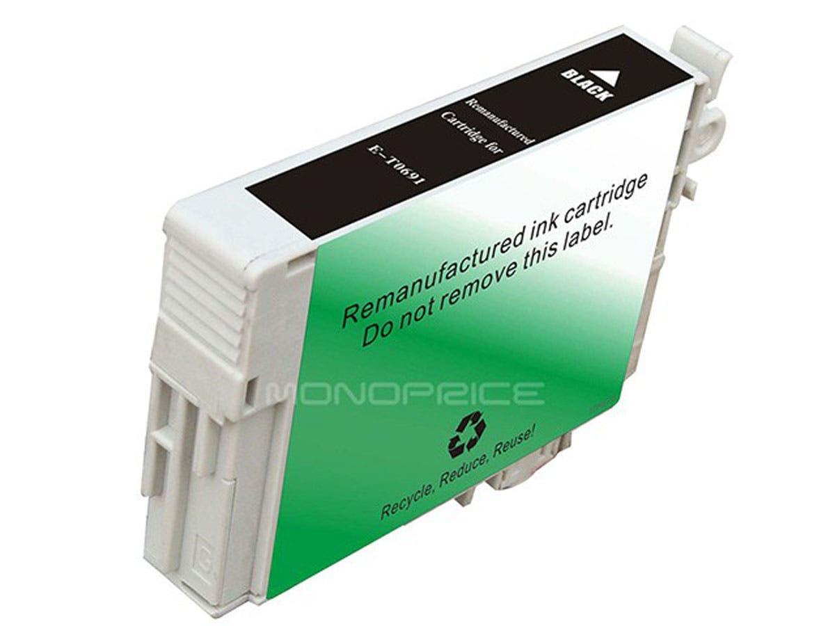 Monoprice Compatible Epson T0691 - Black-Large-Image-1