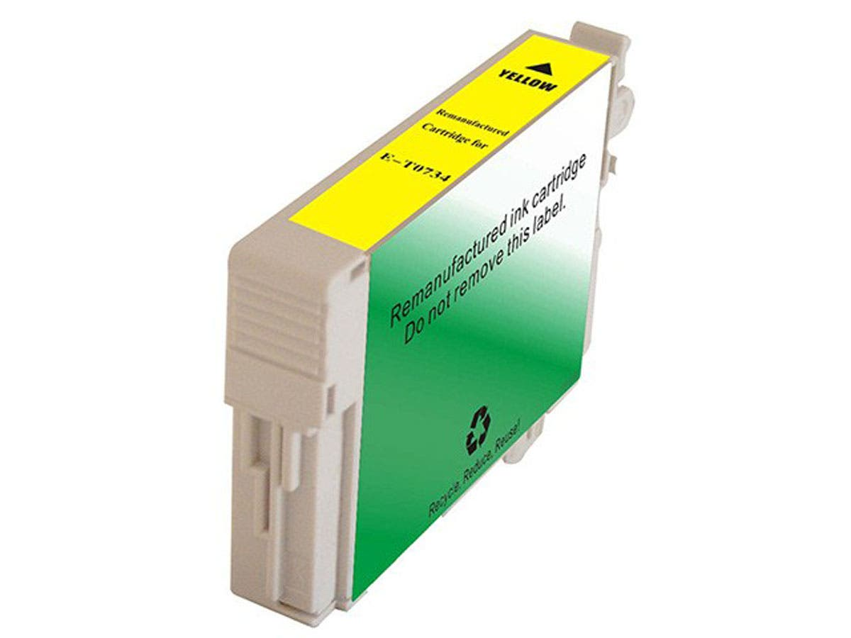 Monoprice Compatible Epson T0734 - Yellow-Large-Image-1