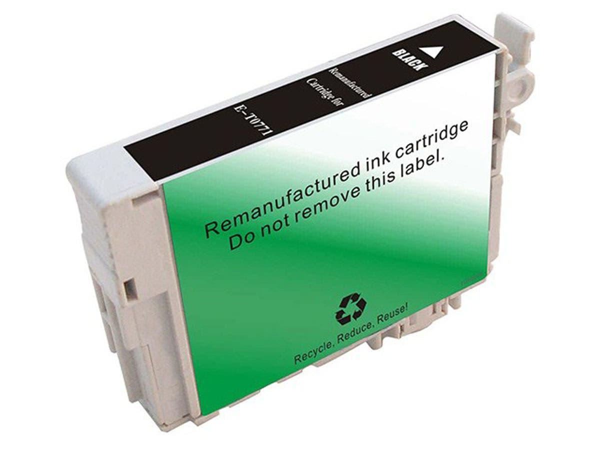 Monoprice Compatible Epson T0771 - Black-Large-Image-1