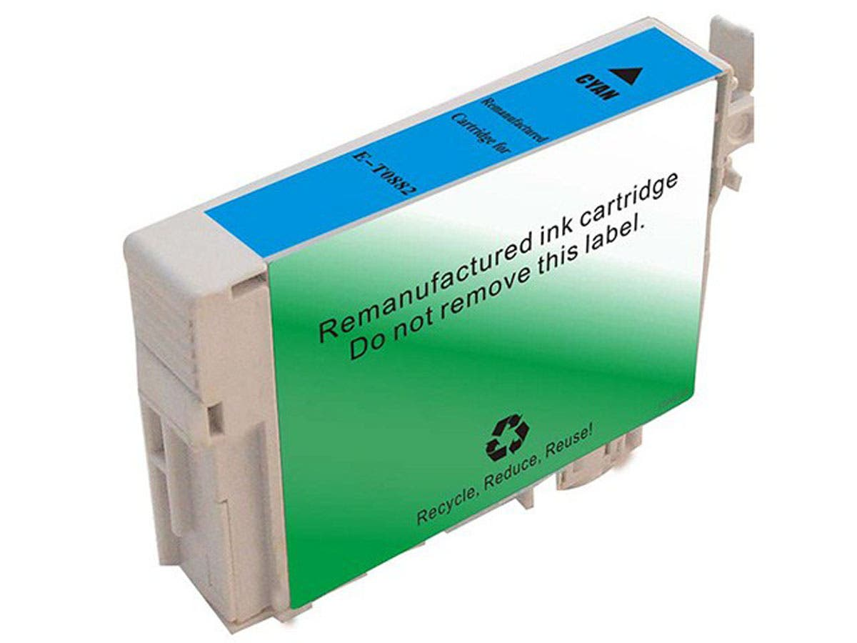 Monoprice Compatible Epson T0882 - Cyan-Large-Image-1