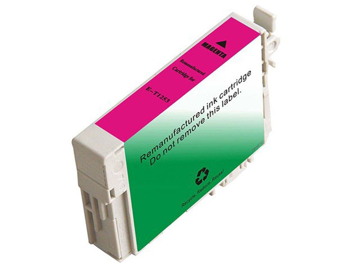 Monoprice Compatible Epson T1253 - Magenta-Large-Image-1