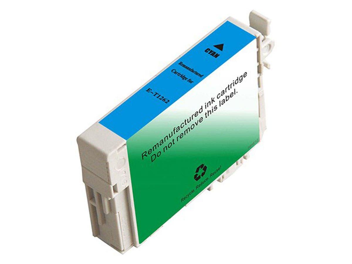 Monoprice Compatible Epson T1262 - Cyan-Large-Image-1