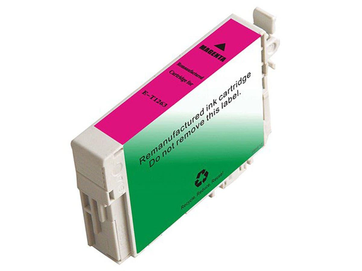 Monoprice Compatible Epson T1263 - Magenta-Large-Image-1