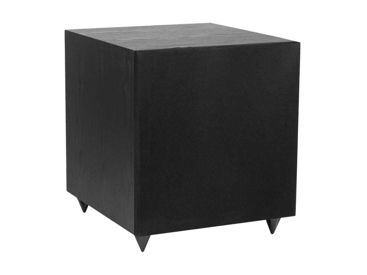 Monoprice 12in 150-Watt Powered Subwoofer, Black-Large-Image-1