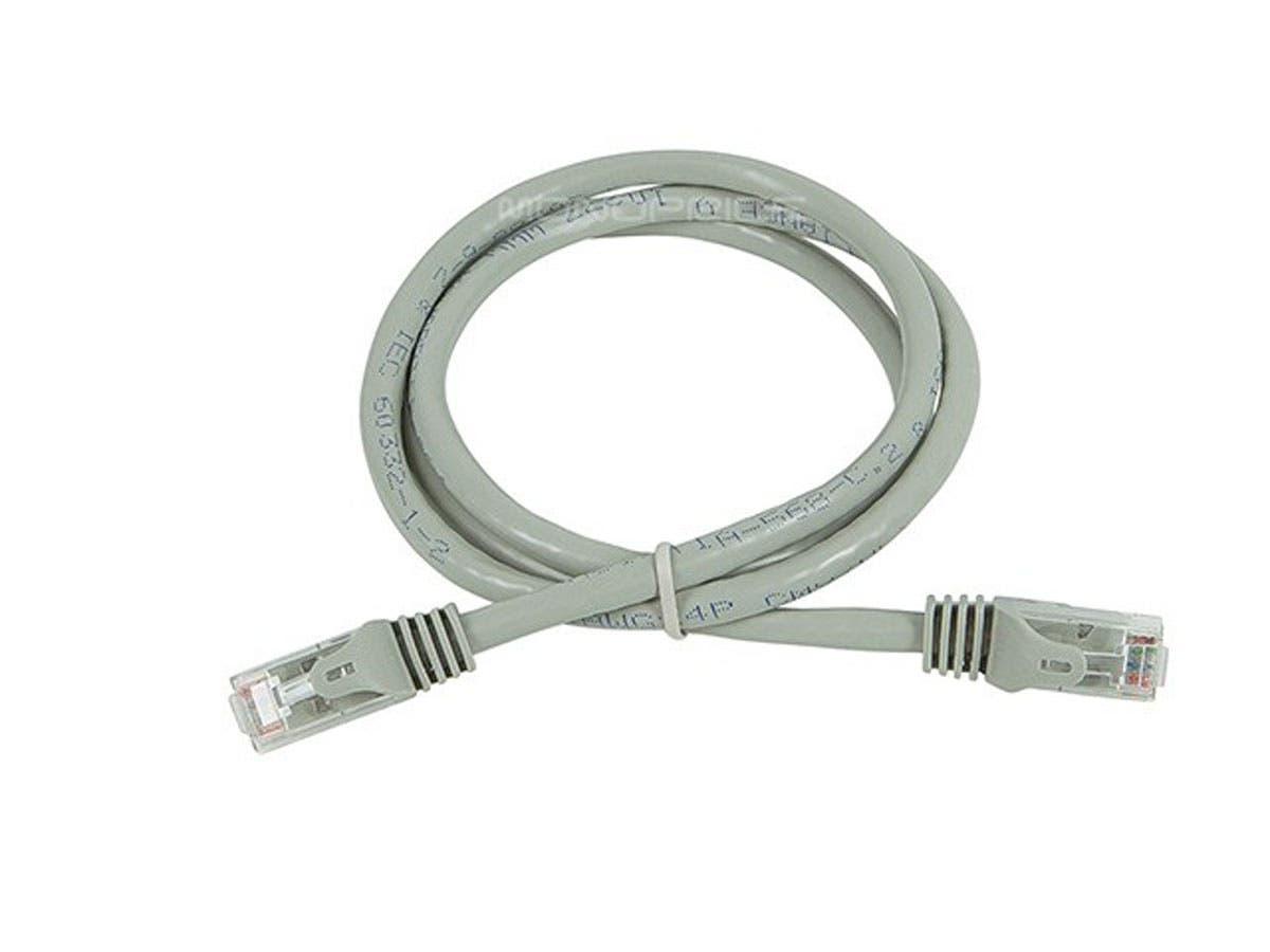 Monoprice Flexboot Cat6 Ethernet Patch Cable Snagless Rj45 Cat5e Plenum 2539 Black Stranded 550mhz Utp