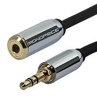 Monoprice Designed for Mobile 6ft 3.5mm Extension Cable