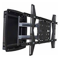 Monoprice Recessed Full-Motion Articulating TV Wall Mount Bracket - For TVs 42in to 63in, Max Weight 200lbs, Extension Range of 3.94in to 25.0in, VESA Patterns Up to 800x500
