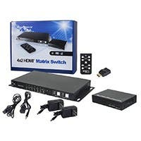 Monoprice HDBaseT 4x2 HDMI Matrix Switch and Receiver