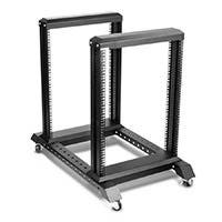 15U 4 Post Open Frame Rack