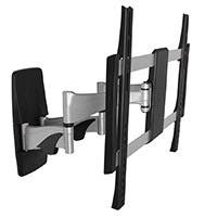Monoprice Full-Motion Articulating TV Wall Mount Bracket For TVs 32in to 55in, Max Weight 99lbs, Extension Range of 2.0in to 17.5in, VESA Patterns Up to 400x400, UL Certified
