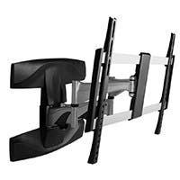 Monoprice Full-Motion Articulating TV Wall Mount Bracket For TVs 37in to 70in, Max Weight 99lbs, Extension Range of 2.1in to 17.6in, VESA Patterns Up to 600x400, UL Certified