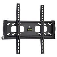 Fixed TV Wall Mount for Most 32~55-inch Flat Panels with Anti-Theft Feature, UL Certified