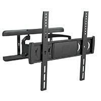 Full-Motion Articulating TV Wall Mount Bracket - For TVs 32in to 55in, Max Weight 55lbs, Extension Range of 1.6in to 16.1in, VESA Patterns Up to 400x400, Works with Concrete & Brick, UL Certified