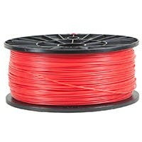 Monoprice Premium 3D Printer Filament PLA 3mm 1kg/spool, Red