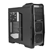 ATX Mid-Tower LED + Fan Controller Gaming Case - .8mm Chassis + 5Fans - Black