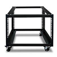 Monoprice 6U 900mm Open Frame Rack