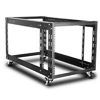 Monoprice 9U 900mm Open Frame Rack