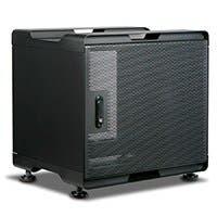 9U 380mm Depth Audio/Video Rackmount Cabinet - GSA Approved