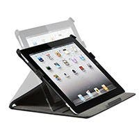 Duo Case and Stand with Magnetic Latch for iPad Air, Black