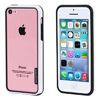 Monoprice PC+TPU Edge Bumper for iPhone 5c, White