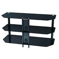 Monoprice High Quality TV Stand For TVs Up to 42in, Max Weight 88lbs