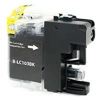 Monoprice Compatible Brother LC103BK Inkjet (New Chip Updated Sept 2015) - Black