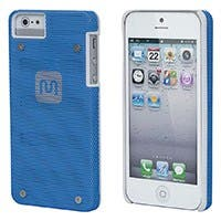 Industrial Metal Mesh Guard Case for iPhone® 5/5s/SE - Blue