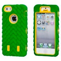 TreadTough Dual Guard PC+Silicone Case for iPhone® 5/5s/SE - Green