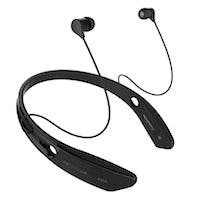 Bluetooth In-Ear Headphones with Qualcomm aptX, NFC, and Built-in Microphone, Black