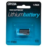 Monoprice Lithium 3V CR123A Battery - 1 Pack