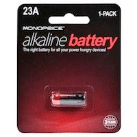Monoprice Alkaline 12V A23A Battery - 1 Pack